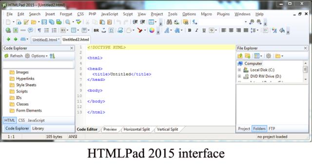 HTMLPad image